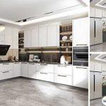 Kệ tủ bếp PVC có tốt không? 5 mẫu tủ bếp PVC bền đẹp